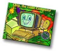 Chip, the Little Computer, an award-winning children's picture book by author Dr. Hope.