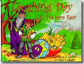 Laughing Day, an award-winning children's picture book by author Dr. Hope.